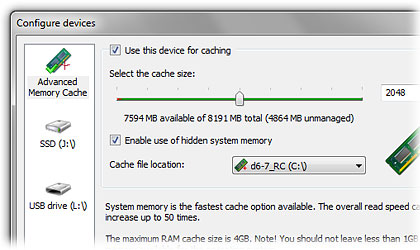 Hidden memory available on a 8GB machine with Windows 7 system